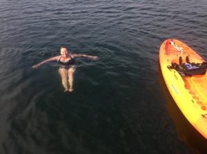 Ahhh fresh water to swim in!