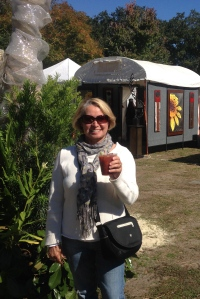 My kind of art festival - they serve Bloody Mary's