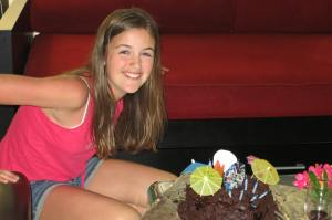 Happy 13th Birthday Anna - Bahamas style!