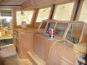 Pilothouse helm/navigation