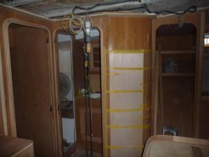 Doorway to the master head (aka-bathroom)
