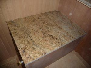 This is what our granite looks like!