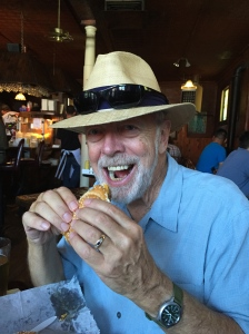 Mark enjoying Happy Hour