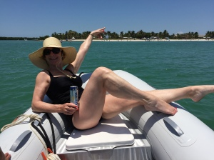 Beautiful Dinghy Wench!