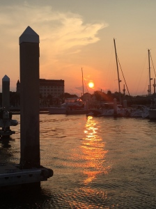 Sunset in St. Augustine